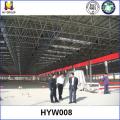 Estructura de acero marco espacial abierto almacén prefabricado