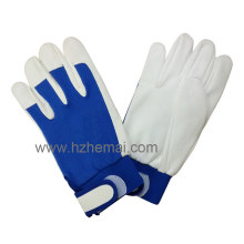 Garden Glove Pig Grain Leather Driver Work Glove