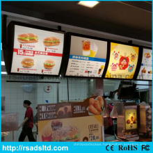 Double Sides Menu Acrylic LED Light Box