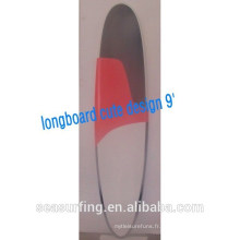 2015 paint spray surfboard for sale longboard cute design cheese board 10'