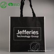 Reusable custom pp non woven grocery shopping bag with logo