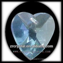 K9 Pendentif Lustre en Cristal avec Forme de Coeur