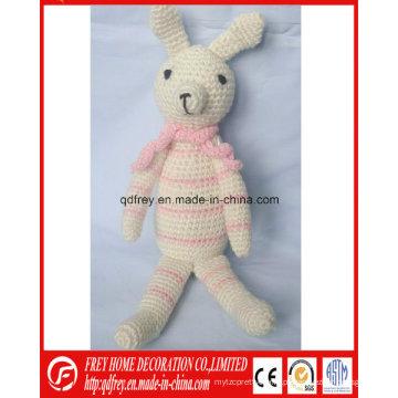 Brinquedo quente bonito do Crochet de Easter da venda do coelho