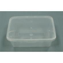 Desechable microondas Caja de almuerzo PP Caja Contenedor de Alimentos