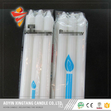 2cm * 22cm White Fluted Candles ke Johannesburg