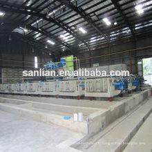 Ligne de production de panneaux EPS / machine de fabrication de panneaux muraux légers