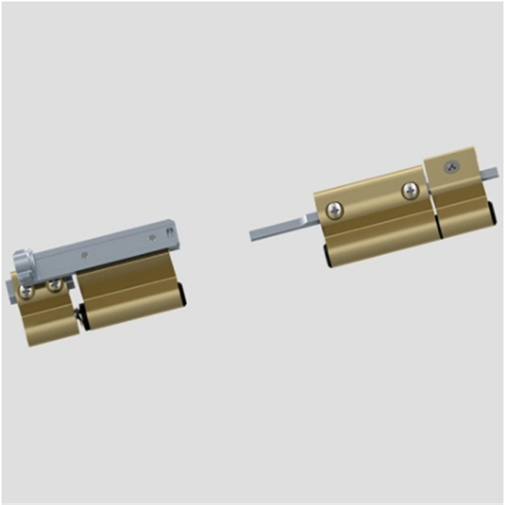 Hinge Components for Tilt and Turn Windows Gold Color