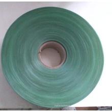 Película rígida verde del PVC del tamaño de 700m m * 0.07m m para el árbol de X'mas