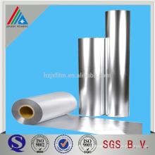 20/30 micron Heat Sealable Aluminium Metallic CPP film Para embalagem / laminação