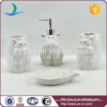 Keramik-Flusspferd Kinderzubehör für Bad