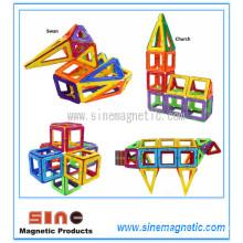 Магнитные строительные блоки Магнитные строительные блоки Игрушки
