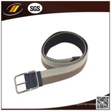 Geflochtener Stretch-Elastikgürtel des neuen Entwurfs-Männer Gewebe-gesponnenen