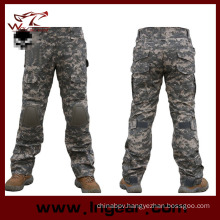 Outdoor Tactical Combat Pants Military Assualt Trousers with Knee Pad