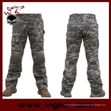 Outdoor-Sportarten Hose taktische Armee Militär Cargo Hose Men′s Jogginghose Hose Casual Kleidung männliche Hose mit Knieschützer