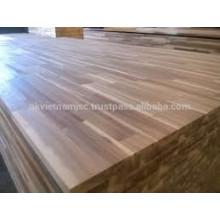 Tablero de junta de dedo de madera de acacia de alta calidad 8x4