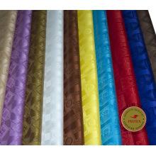 Tela al por mayor de la ropa africana de Bazin Riche Alibaba China Brocade del algodón de la tela