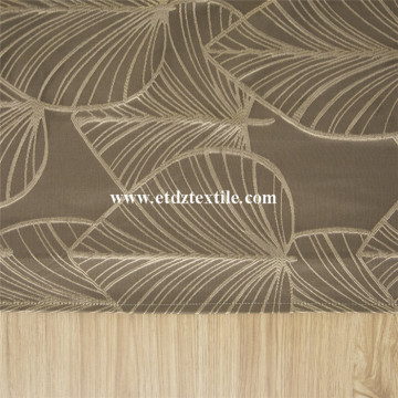 2016 New Polyester Big Leaf Curtain