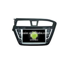 Quad core 4.4 Android car dvd with mirror link/DVR/TPMS/OBD2 for 8inch full touch screen 4.4 Android system HYUNDAI I20