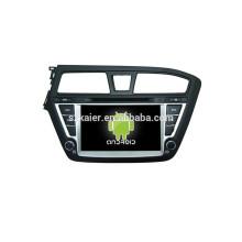 Четырехъядерных андроид 4.4 автомобильный DVD с зеркальная связь/видеорегистратор/ТМЗ/obd2 для 8 дюймов сенсорный экран андроид 4.4 системы Хундай i20