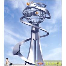Moderne große Outdoor 304 # Metal Skulptur zum Verkauf