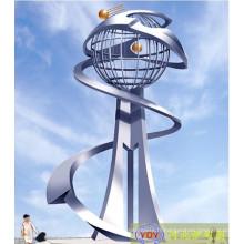 Modern Large Outdoor 304 # Sculpture en métal à vendre