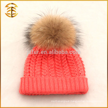 Factory Wholesale Custom Knitted Kids Knit Beanie Winter Hat