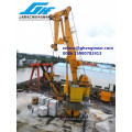 ABS Certificate 100 T Lifting Capacity Crane Knuckle Boom Crane