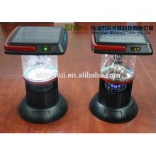Plástico alto lumens mão lâmpada emergência solar mosquito assassino, solar lanternas solares fabricantes
