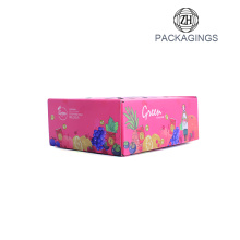 Wholesale kraft paper Fruit Packaging Box
