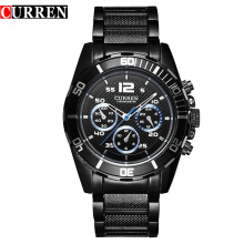 Japan Movt Designer Men Steel Wrist Watches