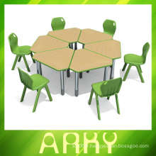Splicing type table étudiante