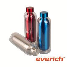Bouteille d'eau en acier inoxydable isolée à la mode la plus vendue