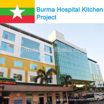 Proyecto del Hospital Internacional Grand Hantha de Shinelong