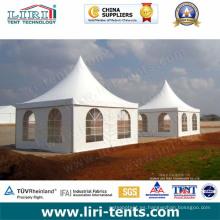Tiendas de Pagoda al aire libre de alta calidad con paredes laterales de ventanas de PVC