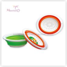 30 * 23 * 11cm panier en plastique pliable fruits / légumes passoire passoire passoire