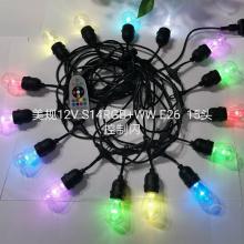 5V RGBW luz solar de 15 cabeças