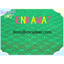 Geomat (erosion control mat) with Green Color