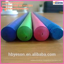 Alça de madeira colorida / madeira colorido brinquedo identificador / cabo de mop madeira