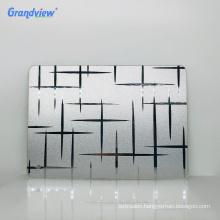 high surface hardness plastic acrylic 4mm wall mirror decoration sheet