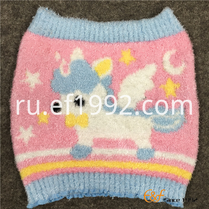 Fluffy Yarn Babies Knitted Haramaki Stomach Band
