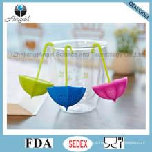 Popular Umbrella Silicone Tea Tool Gift Chá Bag St10