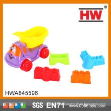 Heißer Verkaufs-bunter 5PCS / Set DIY Spiel eingestellt im Sommer-Plastiksand-Strand-Spielzeug