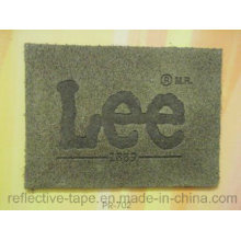 Branded Logo PU Leather Patch for Denim Jeans