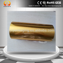 Brushed gold pet film for car wrap,auto decoration