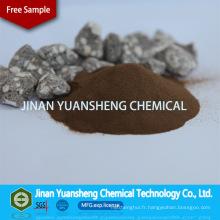 Engrais de SLS / liant en céramique sulfonate de lignine de sodium pour la Thaïlande