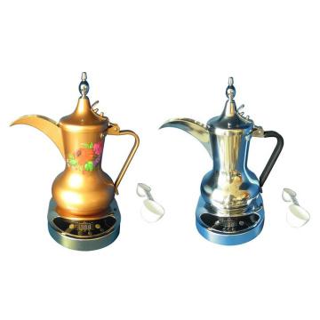 Cafetera eléctrica árabe Cafetera de acero inoxidable
