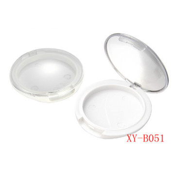 Clear Single Round Compact Powder Case