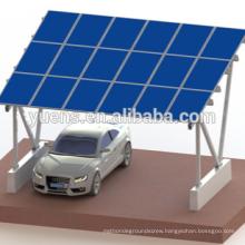 Factory Price Aluminum Solar Carport Mounting Structure