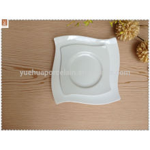 Platos planos de cerámica de cerámica de diferentes tamaños