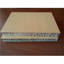 Holzfarben HPL feuerfeste Wabenplatten für Schiffsdekoration